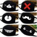 Чёрные K-pop маски с рисунками