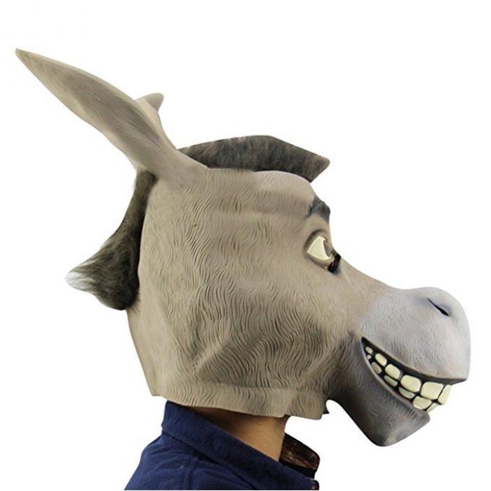 маска ослика