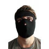 Неопреновая маска чёрная
