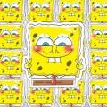 Наклейка Sponge Bob