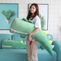 Большая мягкая подушка Крокодил