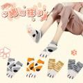 Носки кошачьи в виде лапок