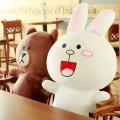 Мягкие игрушки кролик Кони и медведь Браун