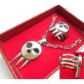 Набор из кулона и кольца Soul Eater