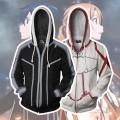 Толстовки Sword Art Online: Кирито и Асуна