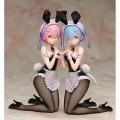 Фигурка Re:ZERO: Starting Life in Another World - Ram and Rem Bunny Ver. 1/4