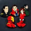 Значки ручной работы Marvel