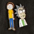 Значки ручной работы Rick and Morty
