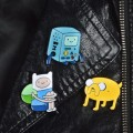 Металлические значки Adventure Time