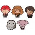 Металлические значки персонажи из Гарри Поттера