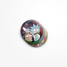 Значки Rick and Morty