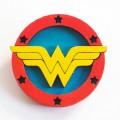Деревянные броши Wonder Woman
