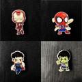 Деревянные значки Marvel