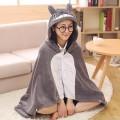 Накидка с капюшоном Totoro