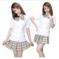 Японская школьная форма (летняя/клетчатая)