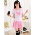 Японская школьная форма Sailor Fuku светло-розовая