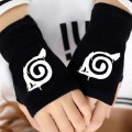 Перчатки без пальцев Naruto