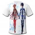 Футболки Sword Art Online Кирито и Асуна