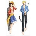 Дакимакура One Piece: Luffy and Sanji