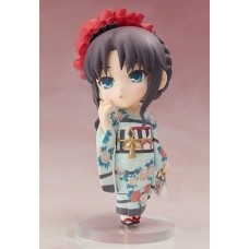 Лимитированная фигурка Fate/Stay Night Unlimited Blade Works — Tohsaka Rin — Chara-Forme Plus — Kimono ver.