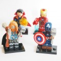 Lego фигурки Avengers