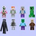 Lego фигурки Minecraft