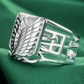 Серебряное кольцо Shingeki no Kyojin