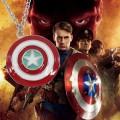 Кулон щит Капитана Америки Marvel
