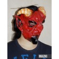 Маска Дьявол красная