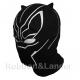Маска - Балаклава Черная Пантера (Black Panther)