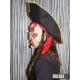 Маска Мумия Пират, со шляпой и волосами