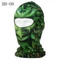 Маска - Балаклава BB 08 (Зеленый гоблин)