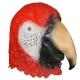 Маска Красный попугай