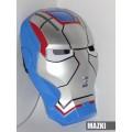 Маска Железный патриот / Iron Patriot с активной подсветкой глаз