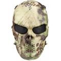 Ударопрочная маска Воин (рептилия)