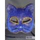 Маска Кошка, синяя