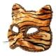 Маска Кошка, тигровая