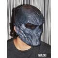 Ударопрочная маска Воин (люкс)
