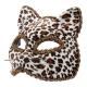 Маска Кошка, леопардовая