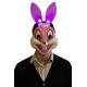 Маска зайца (со светящимися ушами)