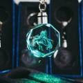 Брелки-кристаллы с подсветкой No Game No Life