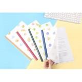 Милые папки для бумаги с фруктами