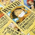 Набор из 11 плакатов Wanted из One Piece