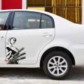 Аниме наклейка на авто-Roronoa Zoro