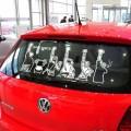 Аниме наклейка на авто-One Piece