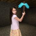 Кирка из Майнкрафт (Minecraft)