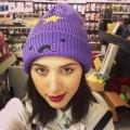 Шапка Принцесса Пупырка фиолетовая (Время приключений)