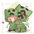 Толстовка Крипер Майнкрафт (Minecraft)