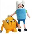 """Мягкие игрушки Фин и Джейк """"Время приключений"""" (Adventure time)"""