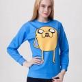 Свитшот-кофта Джейк Время приключений (Adventure time)